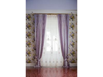 Итальянские шторы и тюль Metropolitan фабрики Chicca Orlando