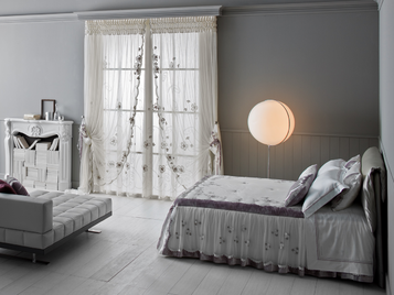 Итальянский тeкстиль для спален Flora фабрики Chicca Orlando