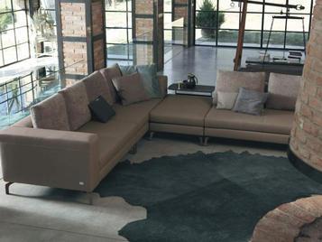 Итальянский угловой диван DIXON фабрики DOIMO SALOTTI