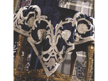 Итальянская скатерть в бархате Botticelli R-2171 фабрики La Contessinа