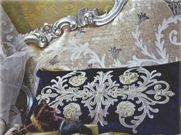 Итальянская подушка Botticelli R-2337 фабрики La Contessinа