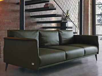 Итальянский диван STILE LIBERO (темно-зеленый) фабрики DOIMO SALOTTI