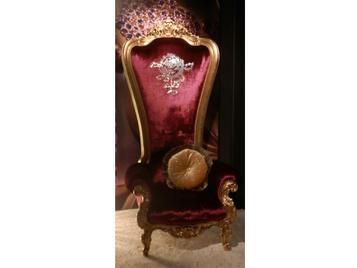 В нашем салоне: итальянское кресло THRONE фабрики CASPANI TINO