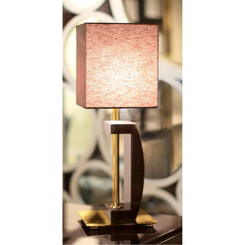 Итальянская настольная лампа LUM 61 PI фабрики RAMPOLDI CREATIONS