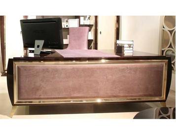 Итальянский письменный стол LUM 80/PI фабрики RAMPOLDI CREATIONS