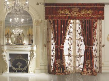 Итальянские шторы и тюли Contessina 001 фабрики La Contessinа