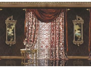 Итальянские шторы и тюли Donatello 001 фабрики La Contessinа