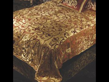 Итальянский тeкстиль для спален Donatello R-2816 фабрки La Contessinа