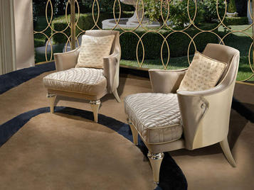 Итальянское кресло CHARLOTTE.2100 фабрики CC