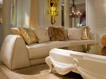 Итальянский диван CELINE.2300/GOLD фабрики CC