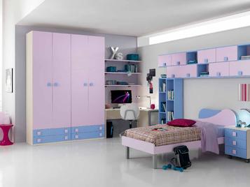Итальянская детская спальня One Camerette 407 фабрики SP