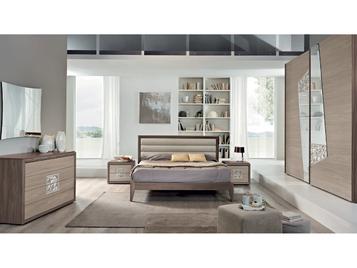 Итальянская спальня Conteporaneo CM07 фабрики SP