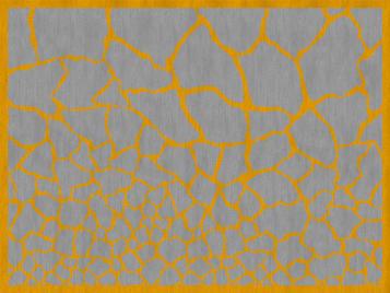 Итальянский ковер UMA - OCHER/GREY фабрики ROBERTO CAVALLI
