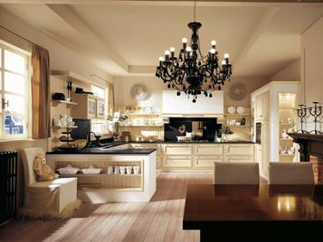 Итальянская кухня Il Canto Del Fuoco 02 фабрики Martini Mobili
