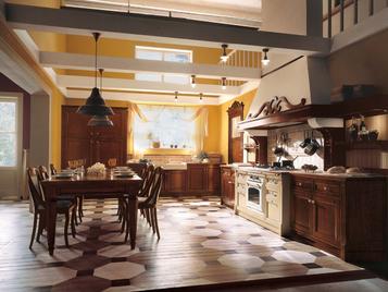Итальянская кухня Il Canto Del Fuoco 03 фабрики Martini Mobili