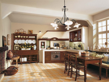 Итальянская кухня Il Canto Del Fuoco 09 фабрики Martini Mobili