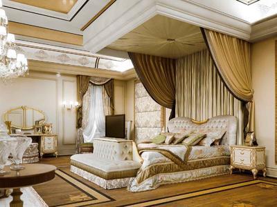 Итальянская спальня VENICE фабрики BRUNO ZAMPA Композиция 02