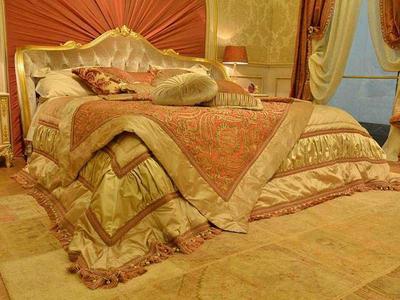Итальянская кровать DORIAN фабрики BRUNO ZAMPA