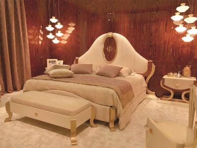Итальянская кровать HERMES фабрики BRUNO ZAMPA