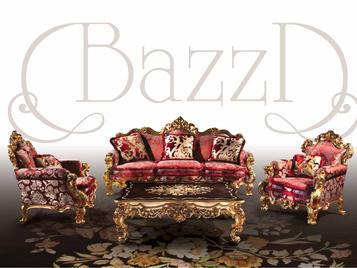 Итальянская мягкая мебель фабрики BAZZI Композиция 02