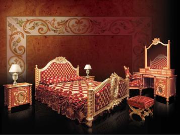 Итальянская спальня фабрики BAZZI Композиция 06