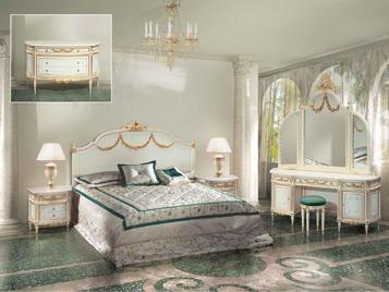 Итальянская спальня фабрики BAZZI Композиция 07