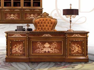 Итальянский письменный стол F602/C фабрики BAZZI