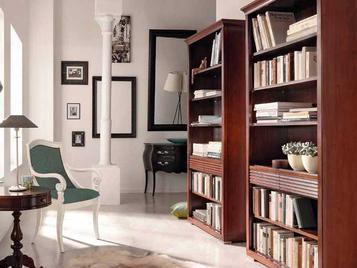 Итальянский книжный шкаф Luna 8233 фабрики Selva Timeless