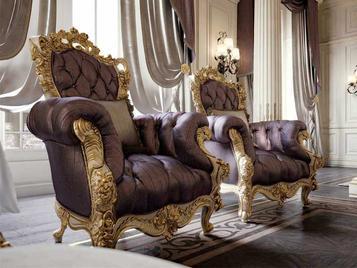 Итальянское кресло CHELSEA фабрики BAZZI