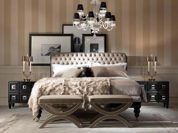 Итальянская кровать ALLISTER фабрики GIANFRANCO FERRE