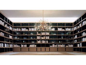 Итальянская библиотека фабрики Galimberti Nino