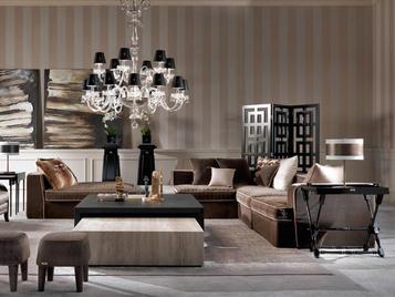 Итальянская мягкая мебель FLAIR фабрики GIANFRANCO FERRE