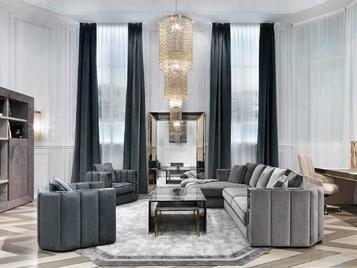 Итальянская мягкая мебель Davis фабрики VISIONNAIRE