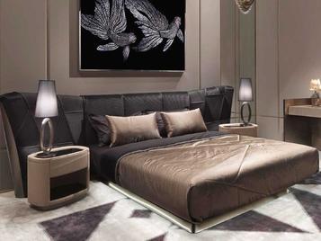 Итальянская кровать Plaza фабрики VISIONNAIRE