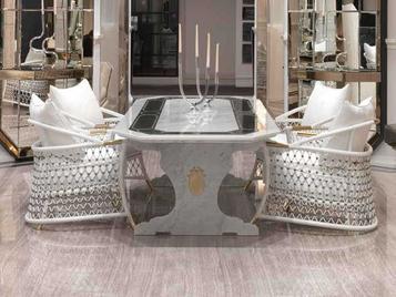 Итальянский стол Pergamo фабрики VISIONNAIRE
