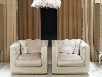 Итальянское кресло Evelake Capitonné фабрики VISIONNAIRE