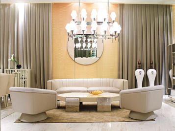 Итальянская мягкая мебель Christopher фабрики VISIONNAIRE