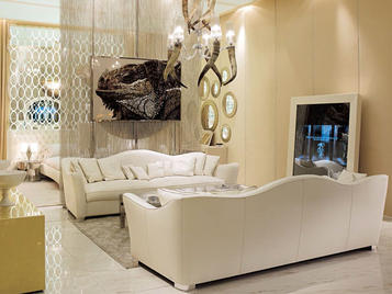 Итальянская мягкая мебель Lester фабрики VISIONNAIRE
