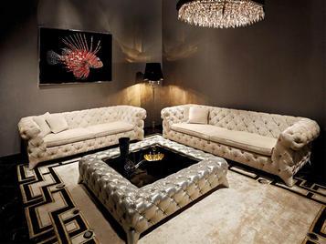 Итальянская мягкая мебель Prince Albert фабрики VISIONNAIRE