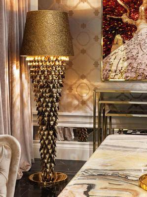 Итальянский торшер Fabergé фабрики VISIONNAIRE