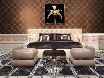 Итальянская спальня Perkins фабрики VISIONNAIRE