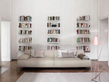 Итальянский книжный шкаф Cave фабрики Bonaldo