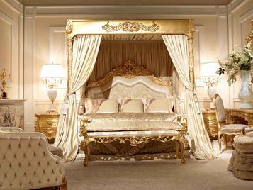 Итальянская кровать CHARLENE/G фабрики ZANABONI