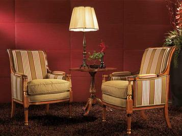 Итальянское кресло PARSIFE фабрики ZANABONI