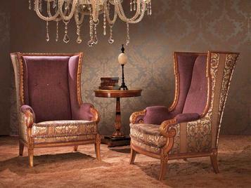 Итальянское кресло ORSE фабрики ZANABONI