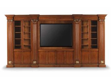 Итальянский книжный шкаф W012 фабрики ZANABONI