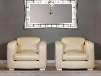 Итальянское кресло AMBRA SMALL фабрики ZANABONI