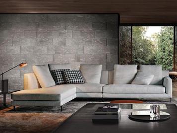 Итальянская мягкая мебель ALLEN 01 фабрики MINOTTI