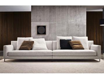 Итальянская мягкая мебель ALLEN 02 фабрики MINOTTI