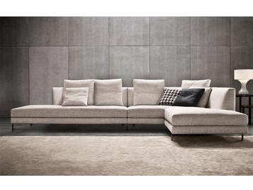 Итальянская мягкая мебель ALLEN 03 фабрики MINOTTI